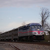 Virginia Railway Express Commuter Train P309