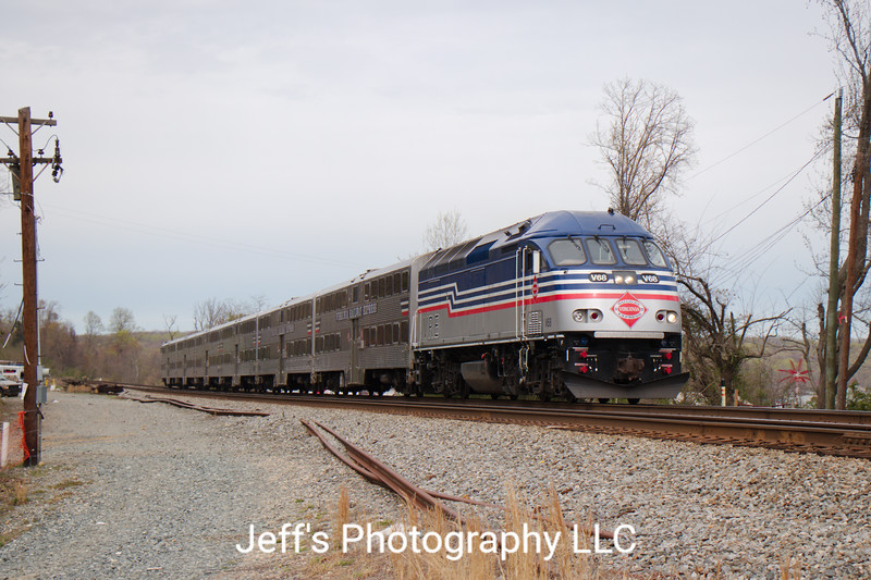 Virginia Railway Express Commuter Train P301