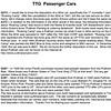 TTG  Passenger Cars