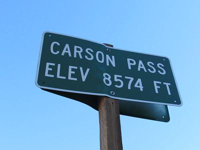 CA- Carson Pass