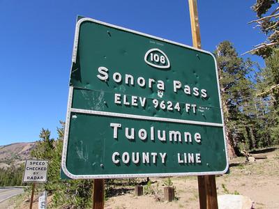 CA- Sonora Pass