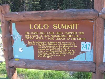 ID- Lolo Pass