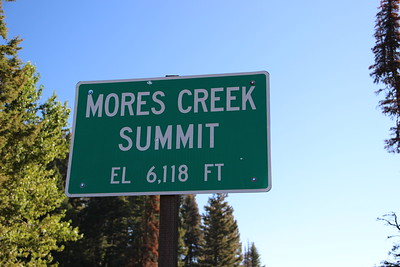 ID- Mores Creek Summit