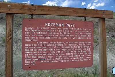 Montana Passes & Gaps