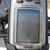 GPS screen showing Manco Burro Pass. (September 2009)