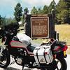Palo Flechado Pass summit (8/22/1987).