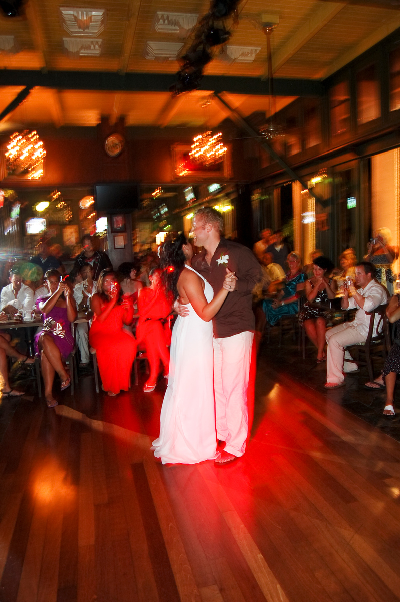 Kara & Ian Reception Dancing