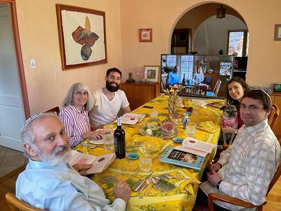 First Seder, Zoom