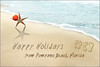 a holiday writing in sand copy
