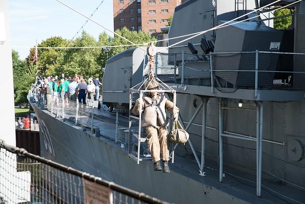 USS The Sullivan Field Days 2016-9