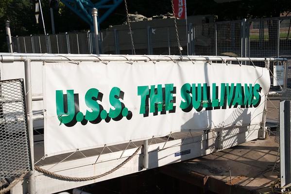 USS The Sullivan Field Days 2016-2