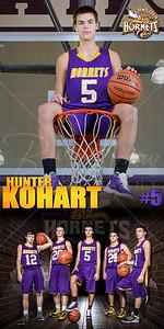 Hunter Kohart BBall Banner