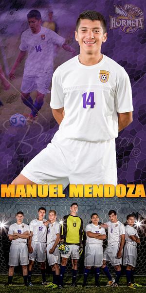 Manuel Mendoza Soccer Banner
