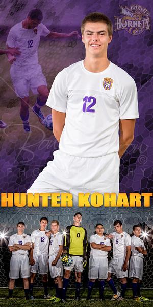 Hunter Kohart Soccer Banner