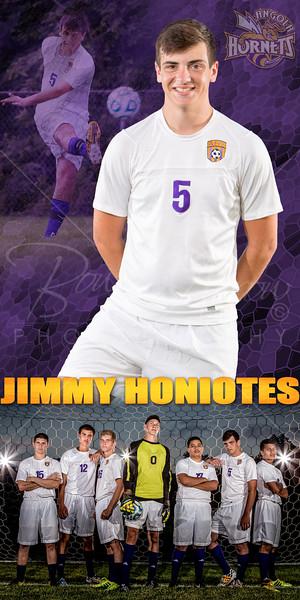 Jimmy Honiotes Soccer Banner