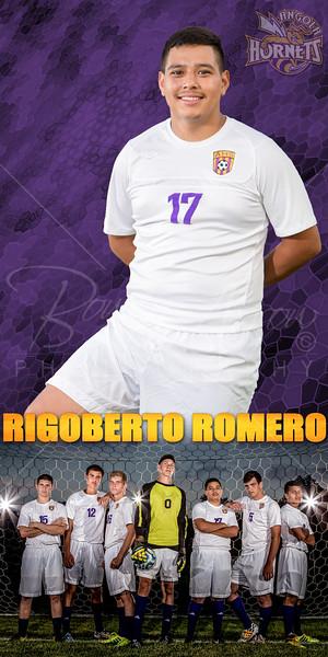 Rigoberto Romero Soccer Banner