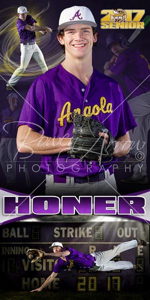 Jake Honer Baseball Banner 01