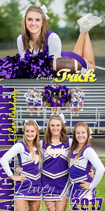 Emily Trick Cheer Banner