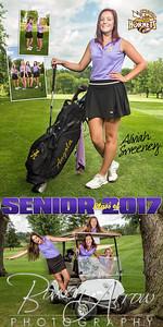 Golf Aliviah Sweeney Banner