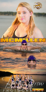 Banner Swim Indara McMillen