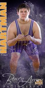 Banner Wrestling Kaine Hartman