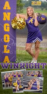Cheer Maymie Winright Banner