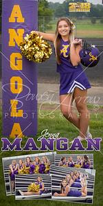 Cheer Jenna Mangan Banner