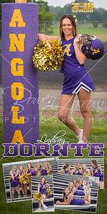 Cheer Lindsay Dortne Banner