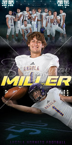 Football Sean Miller Banner