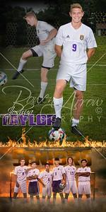 Josh Taylor Soccer Banner
