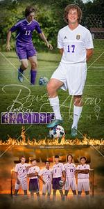 Jackson Brandon Soccer Banner