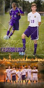 Eduardo Castro Lugo Soccer Banner