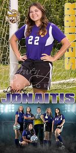 Banner Lauren Jonaitis Soccer