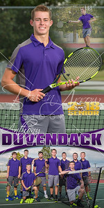 Anthony Duvendack Tennis Banner