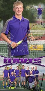 Jaxon Davis Tennis Banner