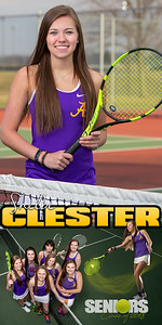 Shelbe Clester Tennis  Banner