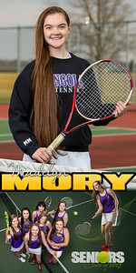 Madilyn Mory Tennis Banner