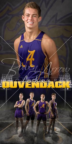 Anthony  Duvendack Track Banner