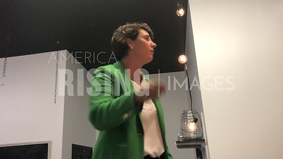 Amy McGrath Attends Meet and Greet At 314 E Main Avenue Bowling Green, KY