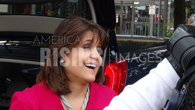 Annette Taddeo At Fight For $15 Event In Miami, FL
