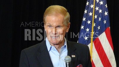 Bill Nelson At Hillary Clinton Campaign Event At Florida Institute Of Technology In Melbourne, FL