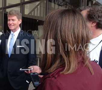 Chris Koster At Candidate Filing Opening Day In Jefferson City, MO