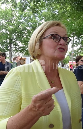 Claire McCaskill At State Fair In Sedalia, MO