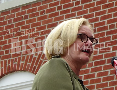 Claire McCaskill At Town Hall In Farmington, MO