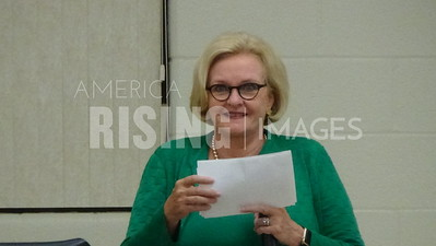 Claire McCaskill At Town Hall In Macon, MO