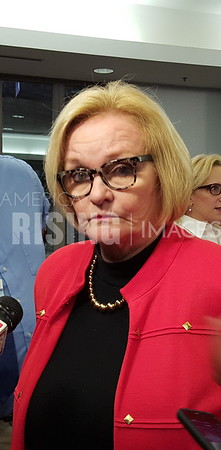 Claire McCaskill Interview At Agriculture Roundtable In Kansas City, MO