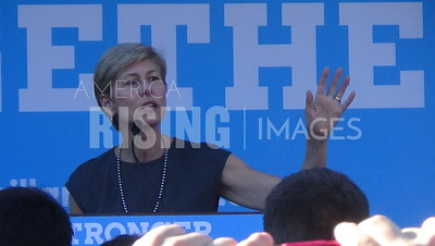 Deborah Ross At Hillary Clinton Campaign Rally In Pembroke, NC
