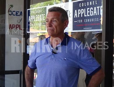 Doug Applegate At Rally In Solana Beach, CA