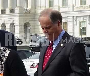 Doug Jones at Medicaid Press Conference in Washington, DC