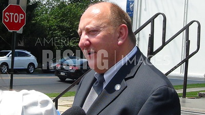 Ed Pawlowski at Andre Reed Park Ceremony In Allentown, PA